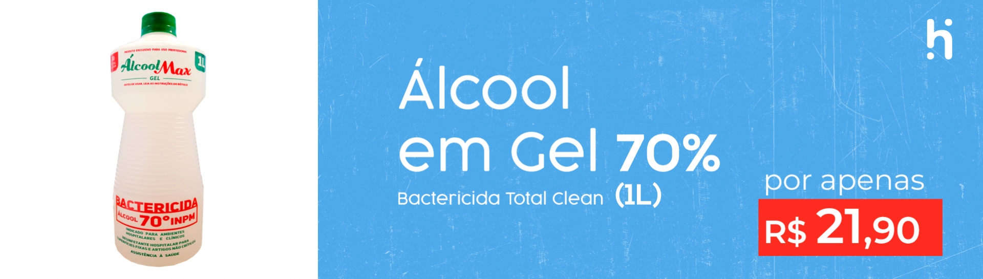álcool gel total clean (litro) (desktop)