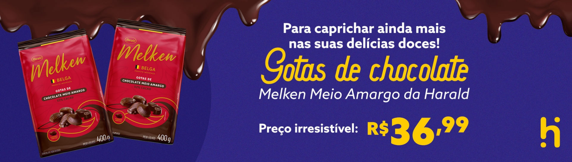 Gotas de Chocolate Melken (Desktop)