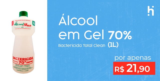 alcool gel total clean (1litro) (mobile)